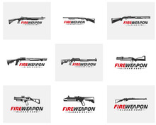 Modern Weapon Collection Vecto...