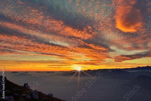 Tela Un tramonto speciale