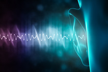 Soundwave And Equalizer Bars W...