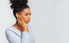 Afro Girl Suffering From Otiti...