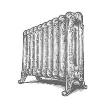 Cast Iron Household Radiator