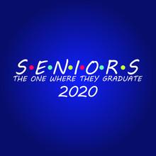 Seniors Of 2020 Graduate Design - VECTOR