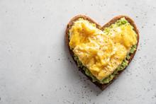 Heart Shaped Healthy Avocado T...