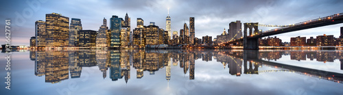 Fototapeta New York City skyline obraz