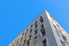 Corner Of The Building Illumin...