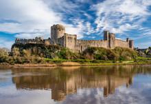 Pembroke Castle, Pembrokeshire...