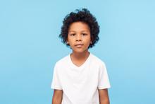 Portrait Of Cute Little Boy Wi...