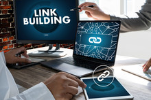 LINK BUILDING Connect Link Communication Contact Network.