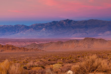 Sunset Over The Sierra Nevada