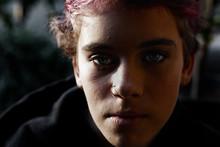 Portrait Of  Depressed Teenage...