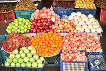 Fruits Panel In Market