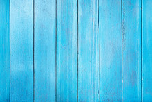 Old Blue Wooden Plank. Seamles...