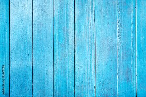Fototapeta deski  old-blue-wooden-plank-seamless-horizontal-texture-of-wooden-planks-placed-vertically-the