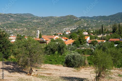 Fototapeta Laneia village. Limassol. Cyprus obraz