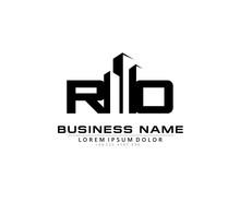 R O RO Initial Building Logo Concept