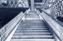 Night Scene Of Stairway Of Mod...