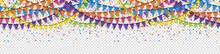Seamless Colored Confetti And ...