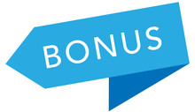 Bonus Web Sticker Button