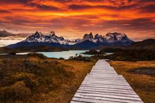 National Park Torres Del Paine...