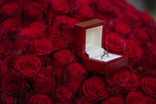 Gift For A Sweetheart, A Bouqu...