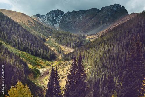Mountains in Colorado Wallpaper Mural