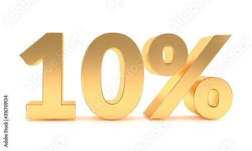 Fotografía 10 percent discount sale promotion