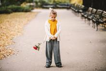 Sad Lonely Heartbroken Little ...