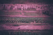 Close Up View Of Magenta Wood ...