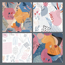 Collection Of Four Vector Colo...