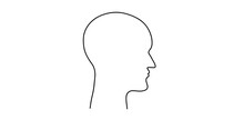 The Head Of A Man. Thoughts An...