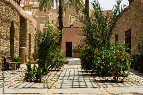 Fototapeta Aqaba, Jordan - May 18, 2011: Vintage photo from archive