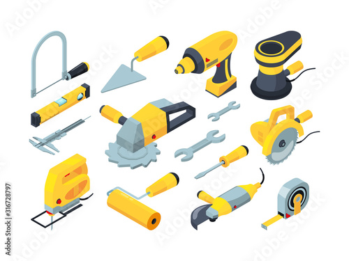 Obraz na plátně Constructions tools