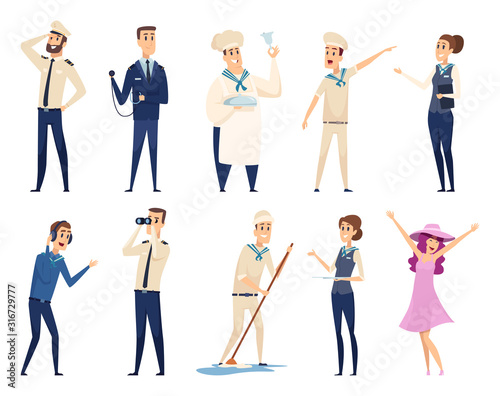 Sea cruise Wallpaper Mural