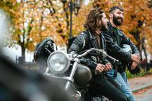 Photo Of Handsome Joyful Men S...