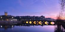 Panorama Sur Angers De Nuit Av...