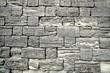 Brick wall in gray tones