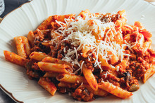 Macaroni And Cheese Tomato Sau...