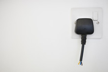 Frayed Electrical Cord With Ou...