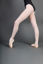 Low Section Of Young Ballet Da...