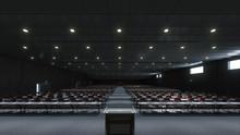 Council Meeting Room. 3d Illus...