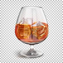 Transparent Shiny Glass On A L...