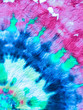 canvas print picture - Tie Dye Spiral Background.