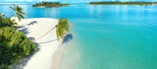 Beautiful White Sandy Beach Wi...