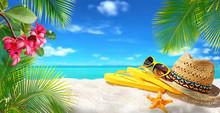 Summer Background, Concept Bea...
