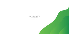 Green Abstract Background With...
