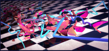 3d Illustration. Abstract Shap...