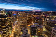 Calgary's Downtown Core From A...