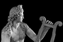 Ancient Roman Statue Of God Ap...