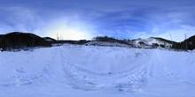 360 Panorama - Tatra Mountains In Winter