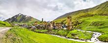 Chazhashi Village In Upper Sva...